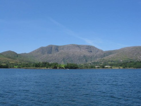 Hungry Hill and Adrigole Harbour
