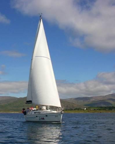 Jessy in Bantry Bay